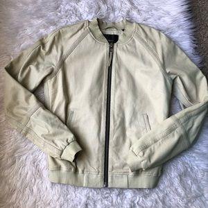 Masion Scotch Leather Jacket